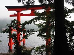 Torii, Lake Tazawa