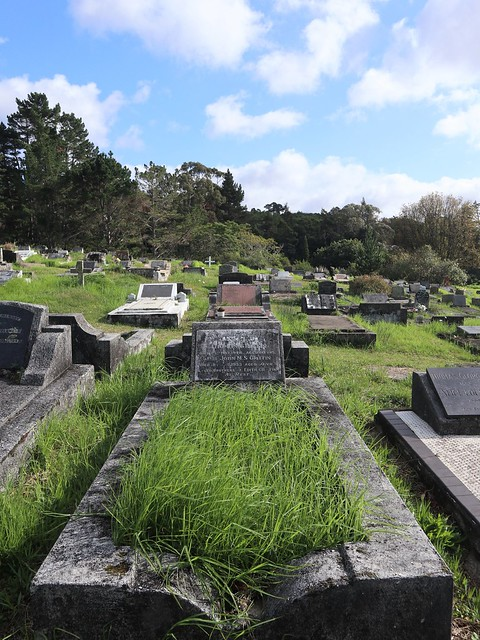 Photo:Wesleyan Division F, Row 3, Plot 47 By Discover Waikumete Cemetery