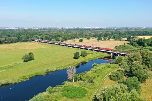 DB 189 014 + goederentrein/Güterzug/freight train  - Biederitz