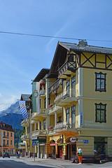 Berchtesgaden - Altstadt (014) - »Hotelmeile« an der Durchgangsstraße