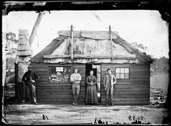 Bakery, Home Rule gold fields, New South Wales, Australia, ca. 1872, American & Australasian Photographic Company