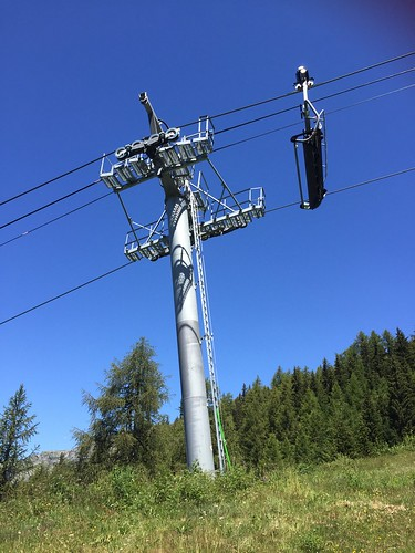 Pylon of the Marquise chair-lift