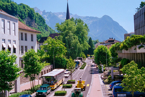 Vaduz, Liechtenstein - August 2000