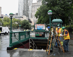 New York City Transit Crews Complete Deep-Cleaning of City Hall Station
