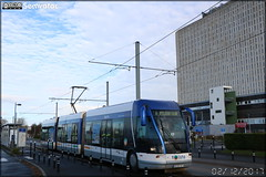 Bombardier TVR (Transport sur Voie Réservée) – Keolis Caen / Twisto n°523 - Photo of Basly
