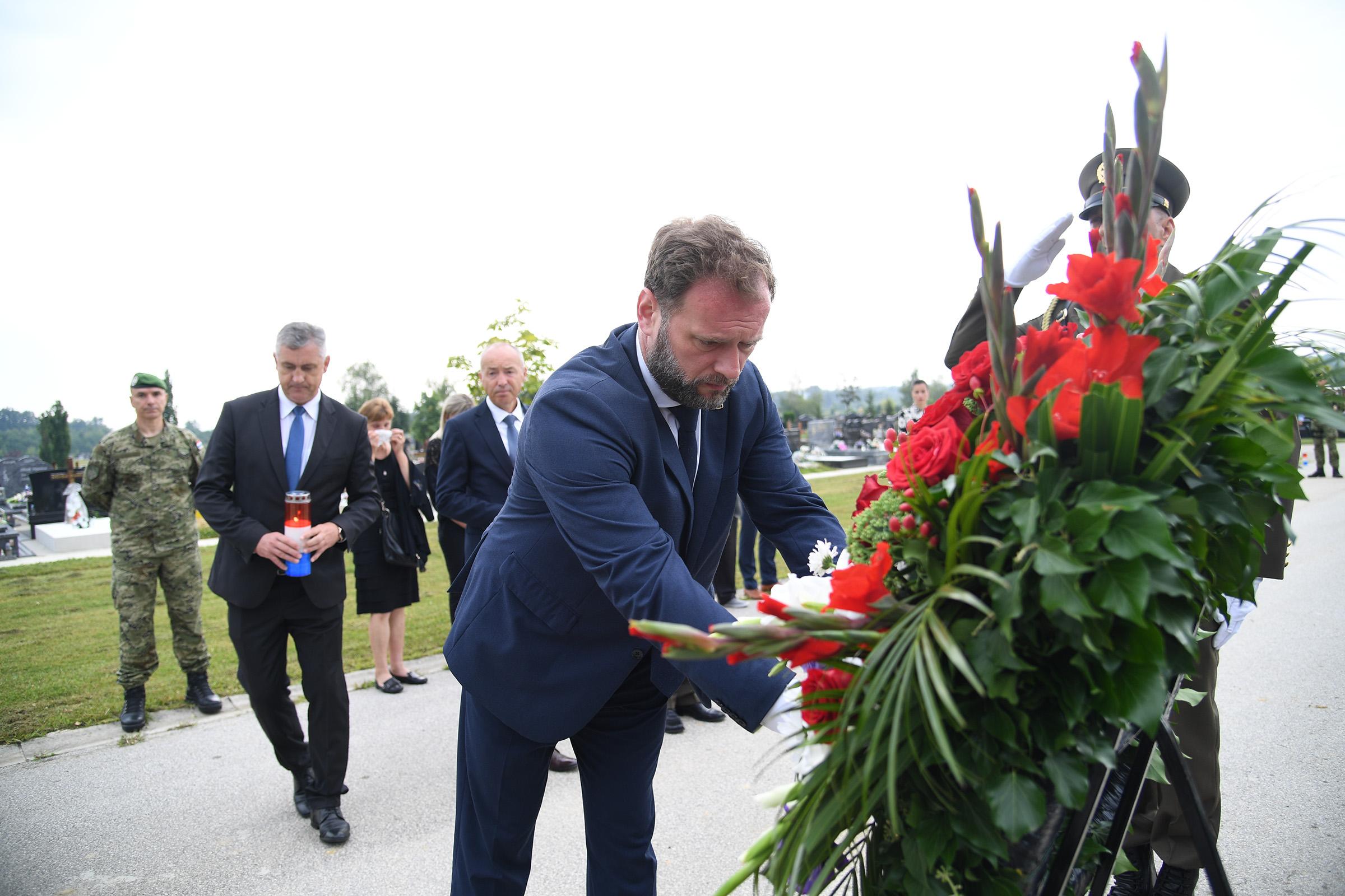 Obilježena prva obljetnica smrti skupnika Josipa Briškog