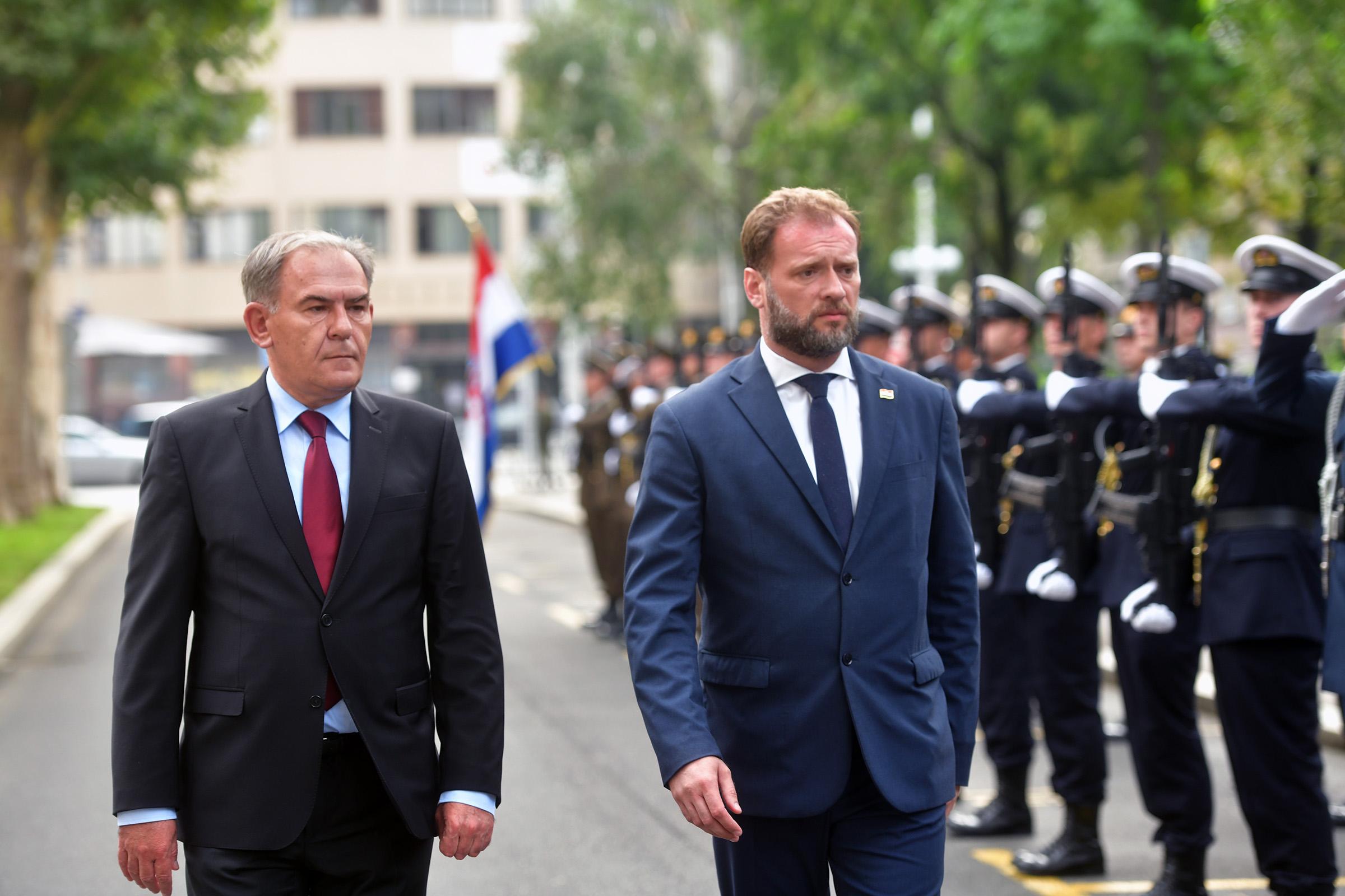 Mario Banožić preuzeo dužnost ministra obrane RH