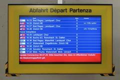 Sargans - IC3 to Zurich