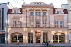 Schlosspark-Center Shopping mall in a historical German building in Schwerin city