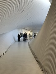 """""""The Twist"""". Interior of the Kistefos art museum, Norway"""