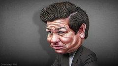 Ron DeSantis - Caricature