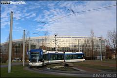 Bombardier TVR (Transport sur Voie Réservée) – Keolis Caen / Twisto n°503 - Photo of Basly