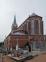 Hondeghem  cimetière de l'église Saint-Omer