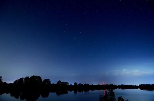 Munich - Big Dipper and Comet