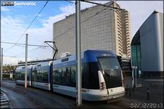 Bombardier TVR (Transport sur Voie Réservée) – Keolis Caen / Twisto n°510 - Photo of Basly
