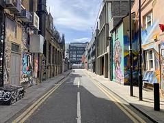 Shoreditch street scene