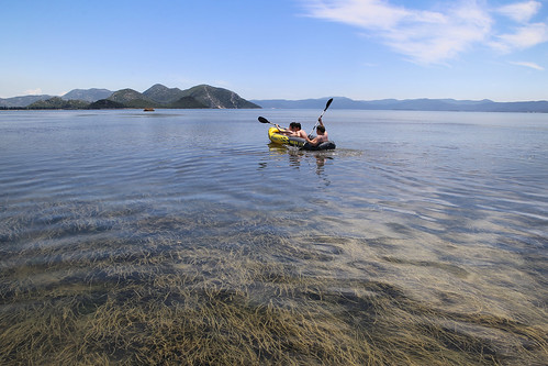 Youngsters exploring Delta Neretva in Croatia