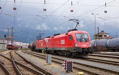 1016 129 & 1016 028 @ Innsbruck Hbf