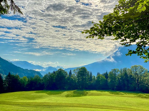 Landscape near Breitenau in Bavaria, Germany