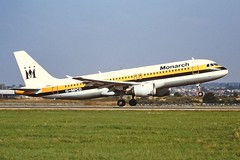 G-MPCD A320 Monarch LTN 04-09-99