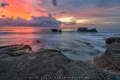 Melasti Beach Sunset