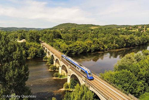 25 juillet 2020 x 72613 Train 865713 Bordeaux-St-Jean -> Sarlat Le Buisson (24)