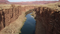 """Arizona - Marble Canyon: """"Polished limestone looked like Marble"""" - John Powell, explanation of the person giving the name"""