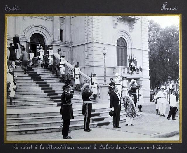 Photo:Chuyến viếng thăm Đông Dương năm 1931 của Bộ trưởng Thuộc địa Pháp Paul Reynaud By manhhai