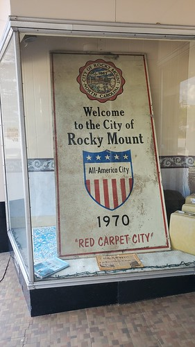 Welcome to the City of Rocky Mount 1970