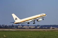 G-MOND B757 Monarch LTN 04-09-99