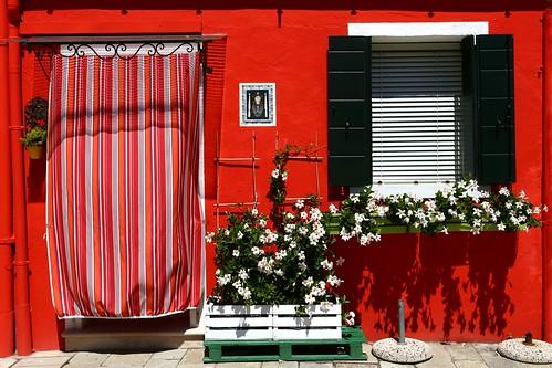 La casa rossa, Burano, Venezia (Explored 28/7/2020)