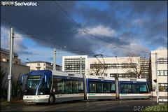 Bombardier TVR (Transport sur Voie Réservée) – Keolis Caen / Twisto n°519