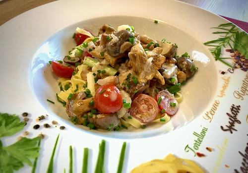 Eierschwammerl Pasta | Mushroom