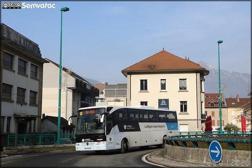 Mercedes-Benz Tourismo – SAT Annemasse (Société Annemassienne de Transports) / Auvergne-Rhône-Alpes / Lihsa (Lignes Interurbaines de Haute-Savoie) n°315