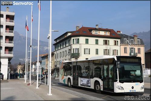 Mercedes-Benz Citaro – Transdev Rhône-Alpes Interurbain – Groupement Arve Mobilité / Arv'i n°563