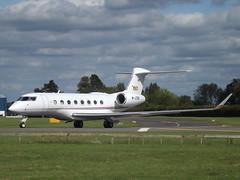 M-JCBB Gulfstream G650 (JCB Aviation Ltd)