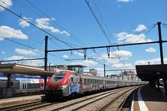 Alstom B5 + Corail  -  Gare de Dijon