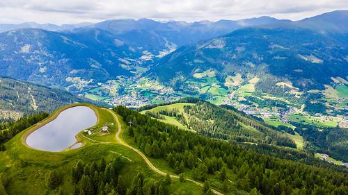 Strohsack with Bad Kleinkircheim valley