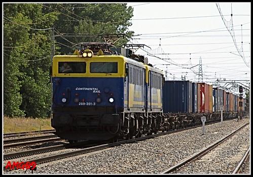 269-351-3 Continental Rail Madrid - Bilbao