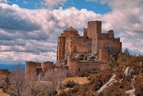 Castillo de Loarre siglo XI HUESCA-ARAGÓN (ESPAÑA)