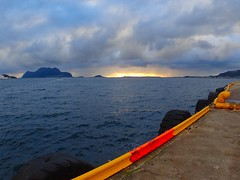 Sunset. Ålesund, Norway
