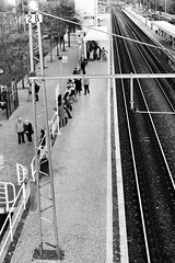 Belem Train Station perspective [Lisbon-Cascais-Lisbon]