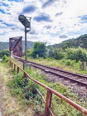 Zugstrecke bei Lahnstein