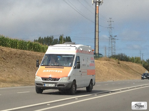 (ex Ambulans) Peryferie Mercedes Sprinter 313 CDI Camper - Portugal