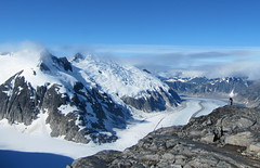 Capturing glacial flow from the Juneau Icefield
