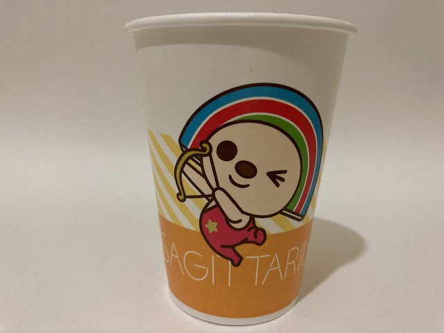 Photo:7-Eleven Taiwan OPEN小將 OPEN-chan Sagittarius archer By Majiscup Paper Cup 紙コップ美術館