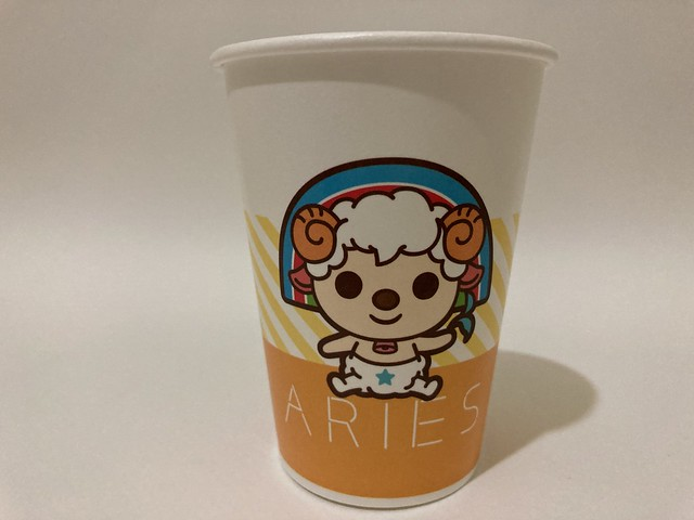 Photo:7-Eleven Taiwan OPEN小將 OPEN-chan Aries ram By Majiscup Paper Cup Museum 紙コップ美術館