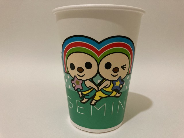 Photo:7-Eleven Taiwan OPEN小將 OPEN-chan Gemini twins By Majiscup Paper Cup Museum 紙コップ美術館