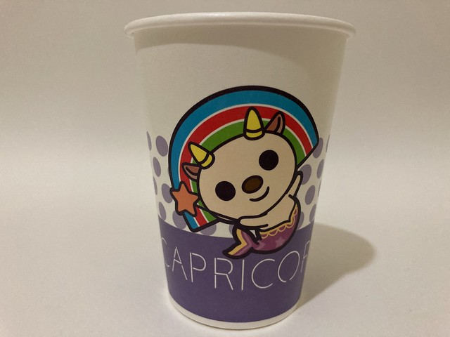 Photo:7-Eleven Taiwan OPEN小將 OPEN-chan Capricorn goat By Majiscup Paper Cup 紙コップ美術館