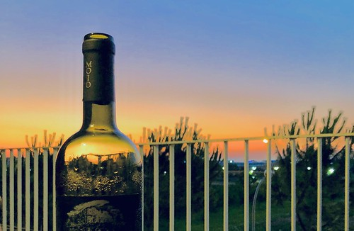 Sunset in a bottle.